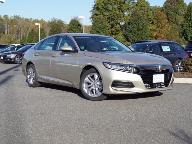 New 2018 honda accord lx sedan in lynchburg 10742 billy for Billy craft honda lynchburg