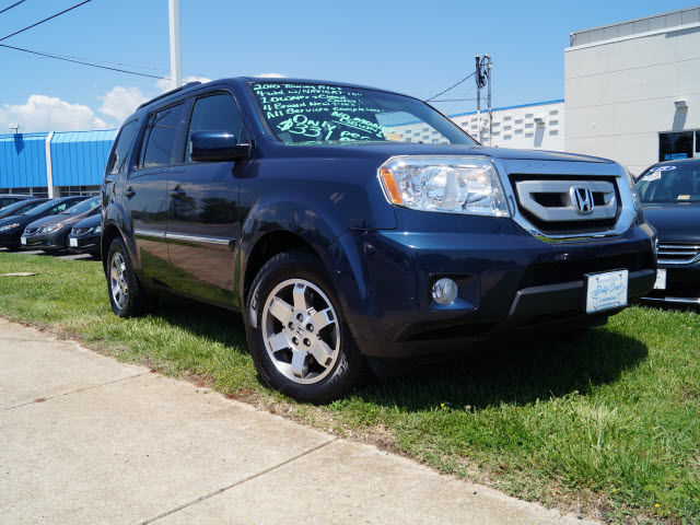 Pre owned 2010 honda pilot touring w navi suv in lynchburg for Billy craft honda lynchburg